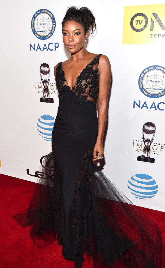 gabrielle union naacp image awards 2016 red carpet the